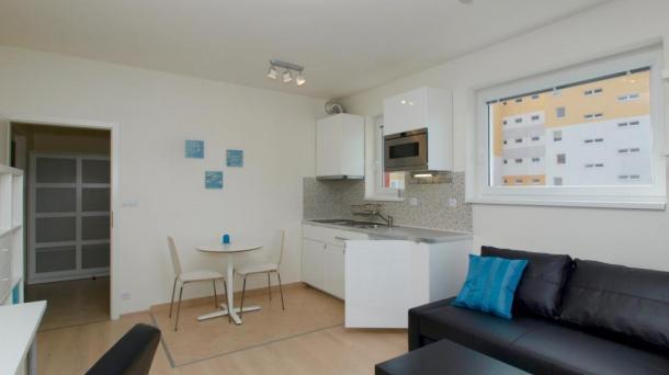 Аренда квартиры, 1+kk, 29 m²